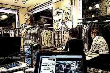 Работа с клиентом в торговом зале