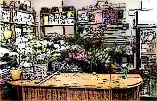 Техника продажи цветов